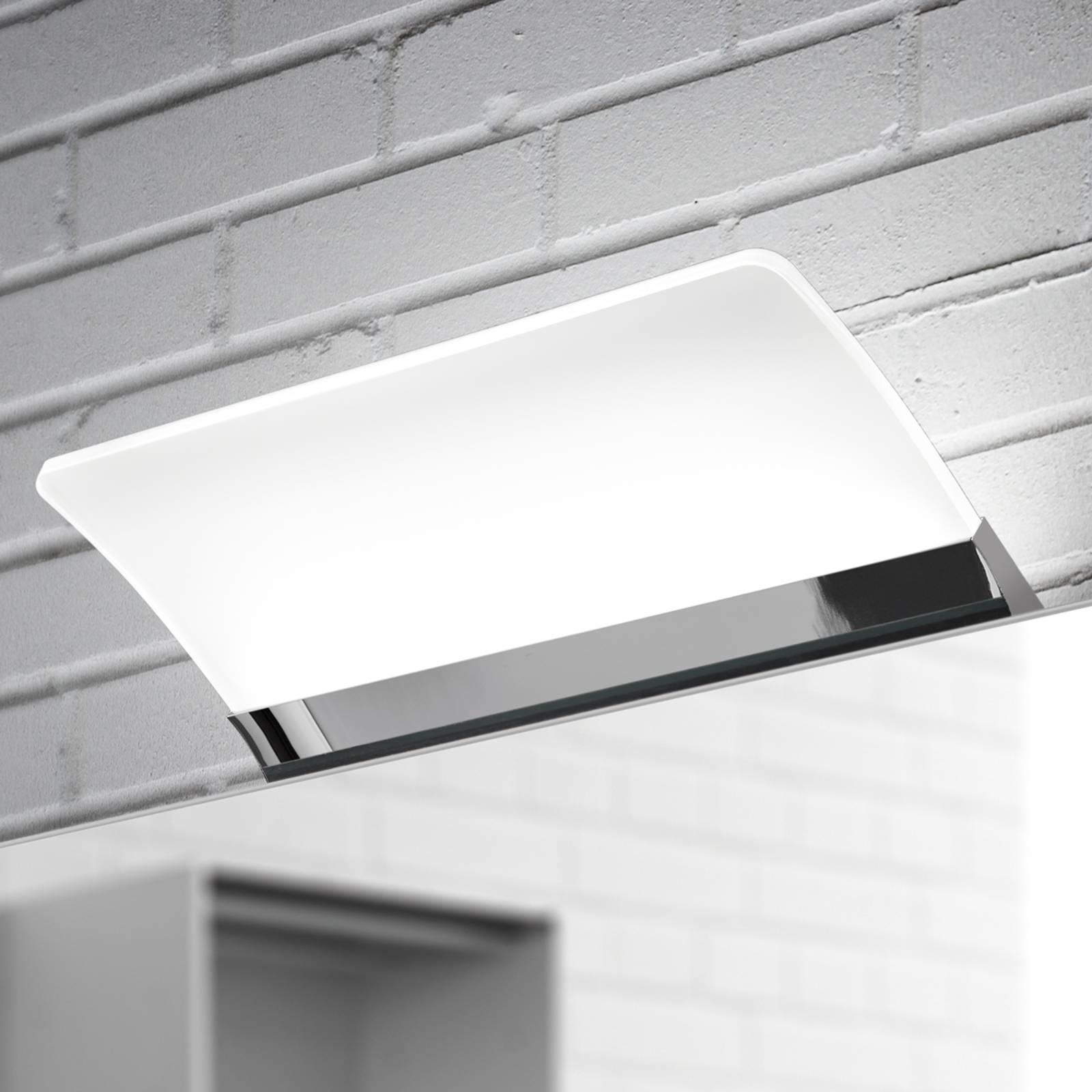 Litteä LED-peilivalaisin Angela, IP44, 16 cm