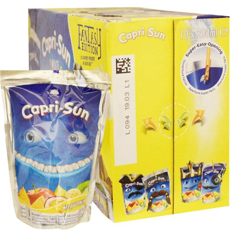 "Mehu ""Capri-Sun Multivitamin"" 10 x 200 ml - 20% alennus"