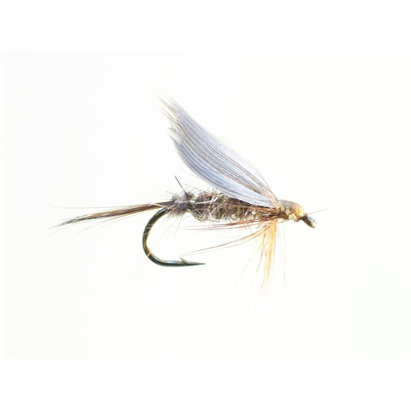 Gold Ribbed Hare's Ear #12 - Enkelkrok Kvalitetsfluer fra kjente leverandører