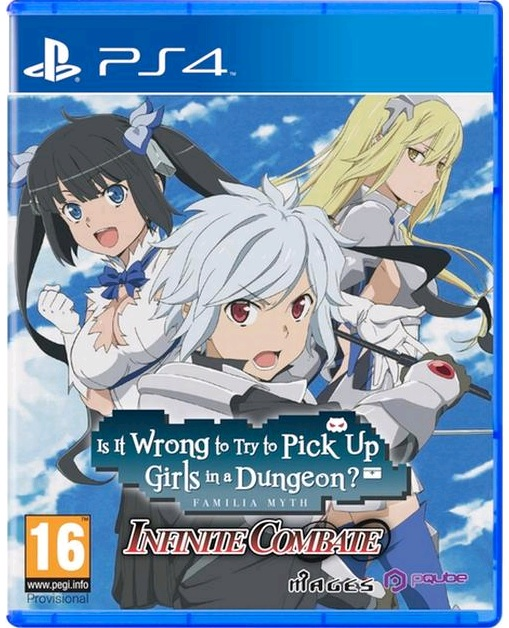 Is It Wrong to Pick Up Girls in a Dungeon: Infinite Combate