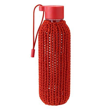 CATCH-IT Vannflaske warm red 0,6 L