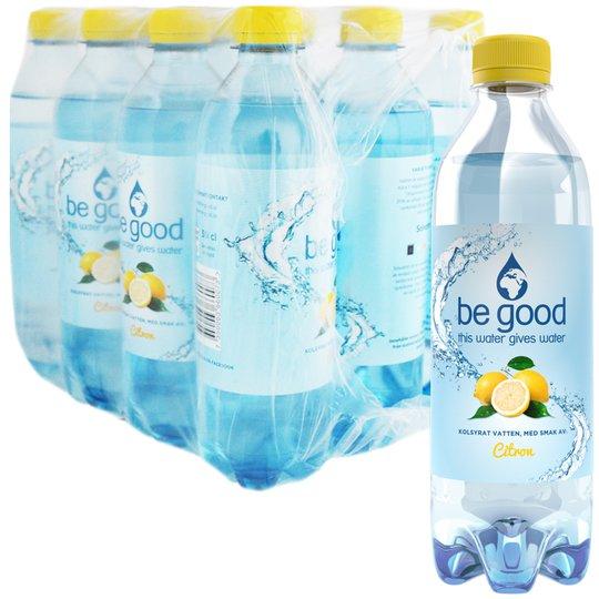 Hel Låda Kolsyrat Vatten Citron 12 x 50cl - 60% rabatt