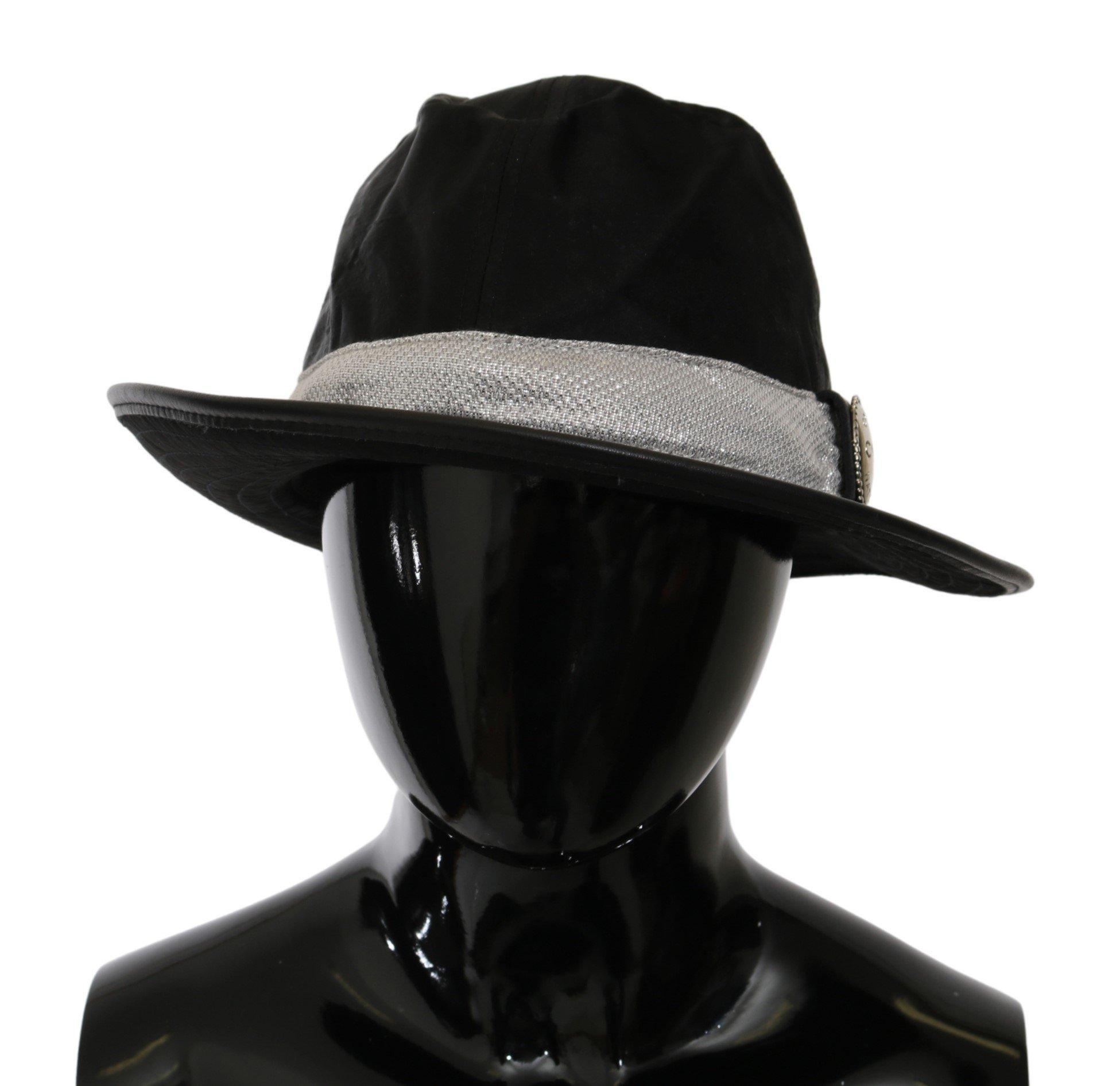 Costume National Men's Classic Wide Brim Floppy Hat Black HAT20000 - 56 cm|XS