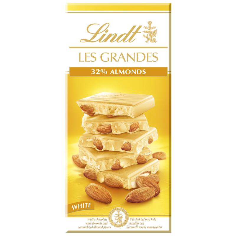 "Vit Choklad ""Almonds"" 150g - 50% rabatt"