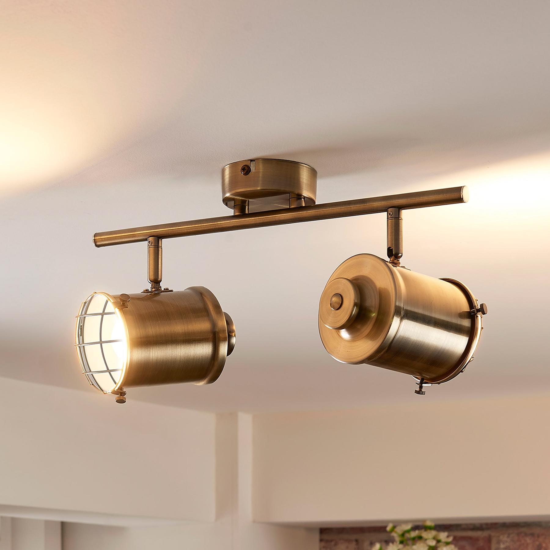 2.lamppuinen LED-kohdevalaisin Ebbi, Easydim