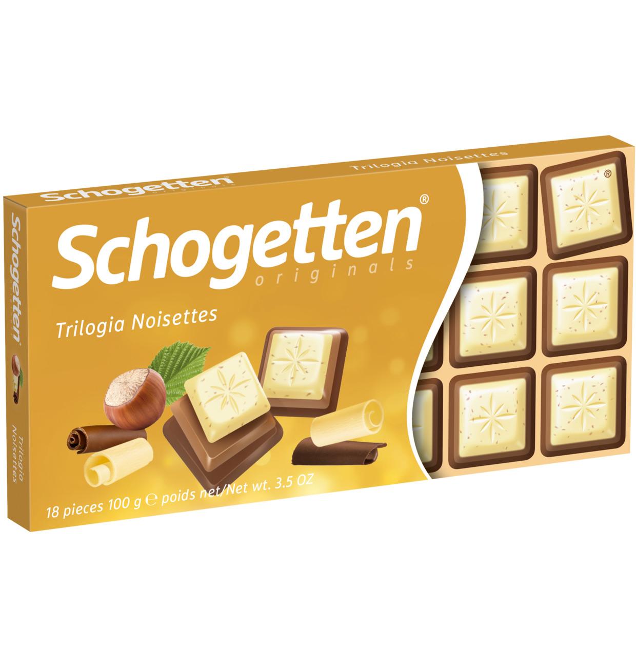 Schogetten Chocolate Trilogy 100g