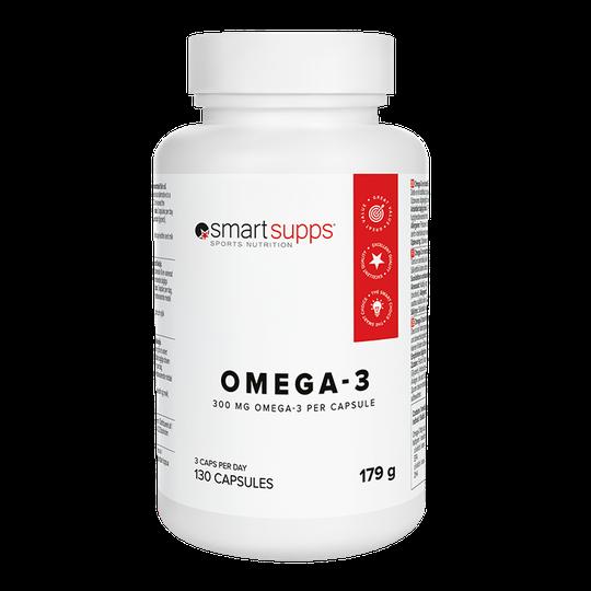 SmartSupps OMEGA-3, 130 caps