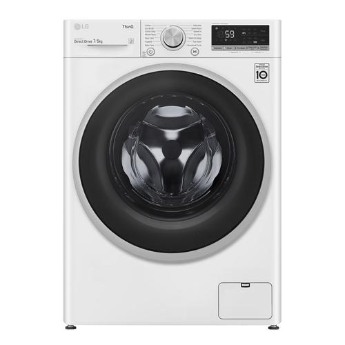 Lg F2dv507n1ws Kombinerad Tvätt/torkmaskin - Vit
