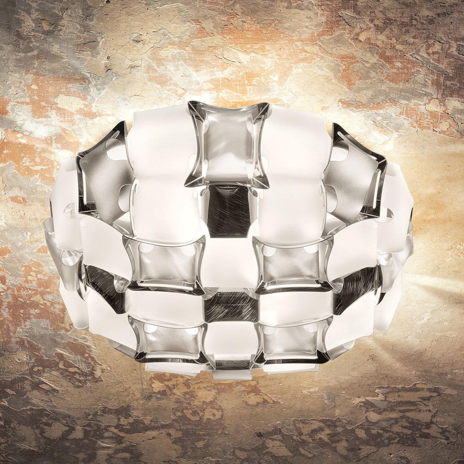 Slamp Mida taklampe, 50 cm, hvit-platina
