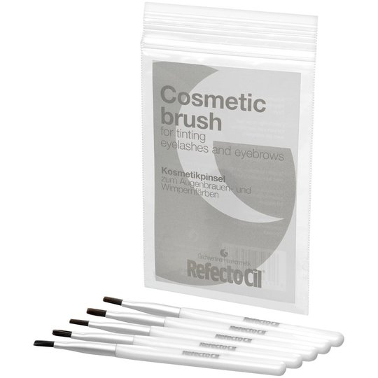 RefectoCil Cosmetic brush for tinting Eyelashes & Eyebrows, Soft, RefectoCil Kulmävärit & trimmerit