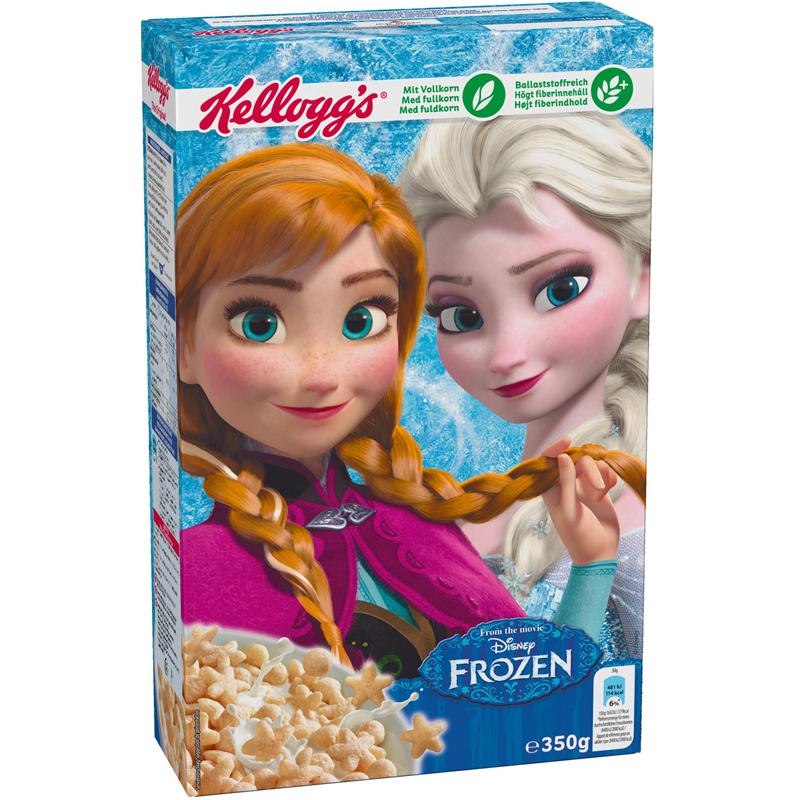 "Aamiaismurot ""Frozen"" 350 g - 84% alennus"