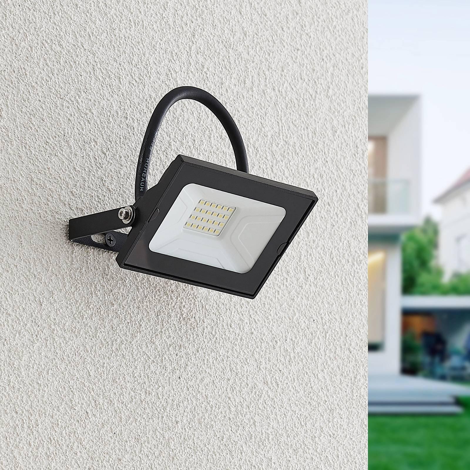 Lindby Aine - LED-kohdevalaisin musta 7,7 cm