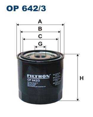Öljynsuodatin FILTRON OP 642/3