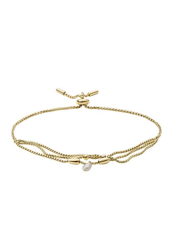 FOSSIL Armband Drew - Guld JF03807710
