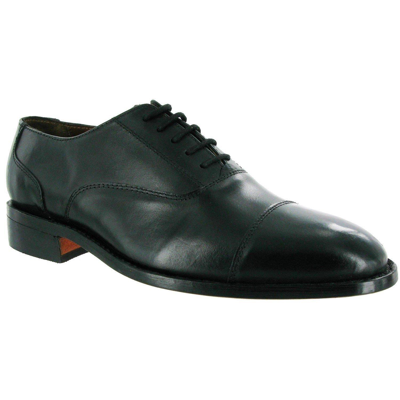 Amblers Men's James Leather Soled Oxford Shoe Black 10874 - Black 6
