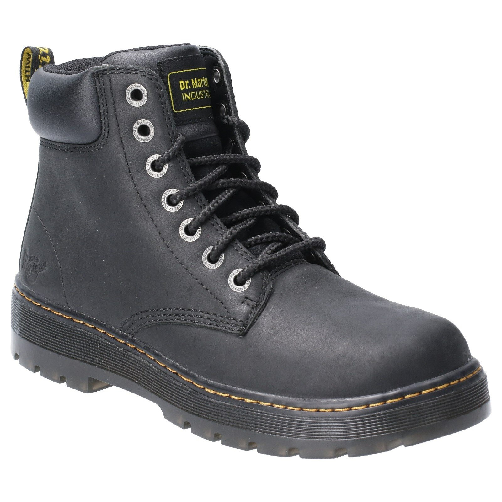 Dr Martens Men's Winch Non-Safety Work Boot Black 29821 - Black 8