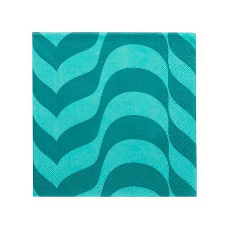 Aalto serviett 33x33 cm havblå