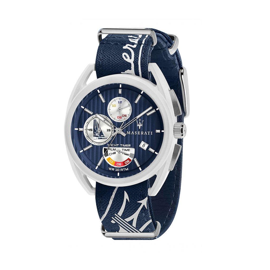 Maserati Men's Watch Various Colours TRIMARANO_R8851 - blue NOSIZE