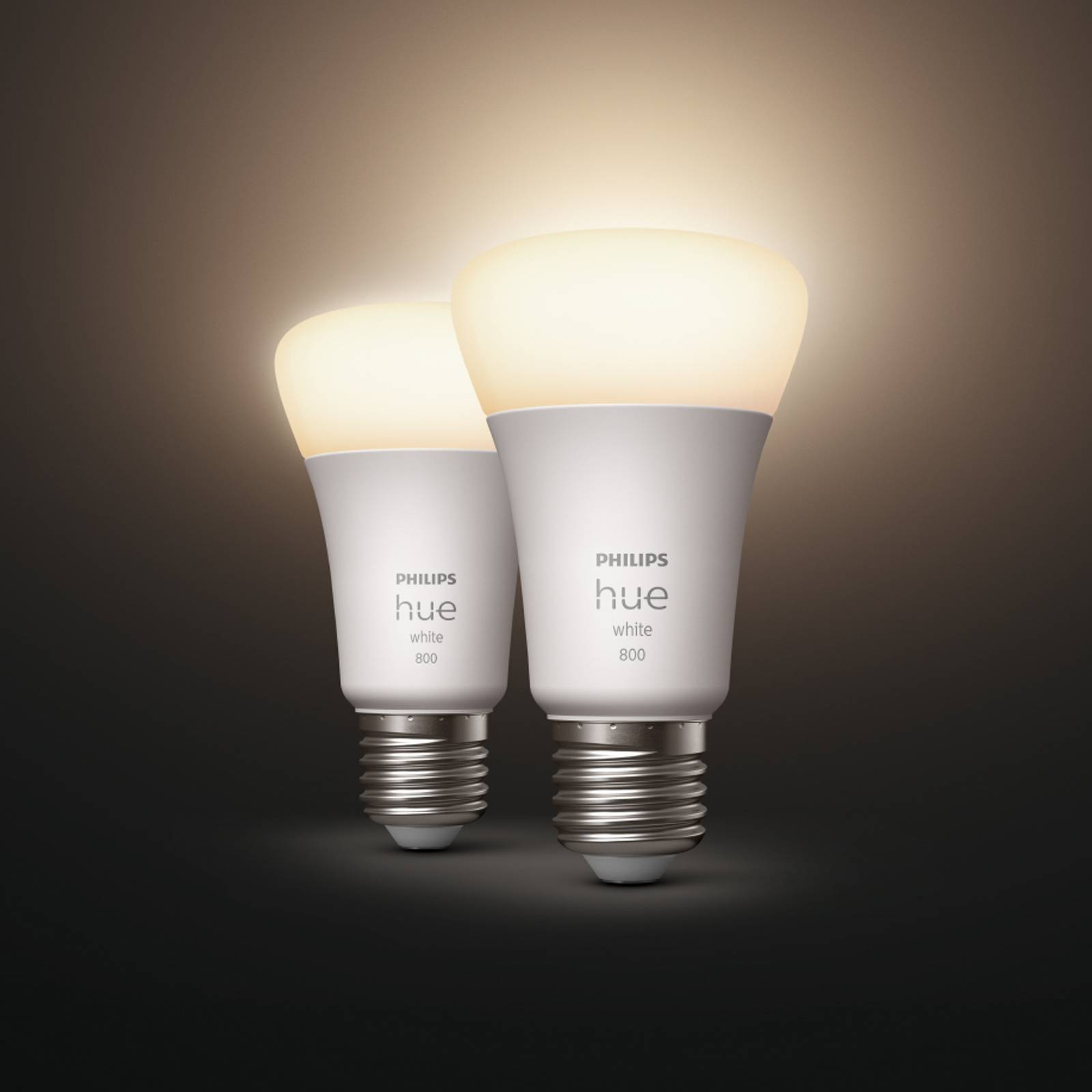 Philips Hue White 9 W E27 LED-lamppu 2 kpl