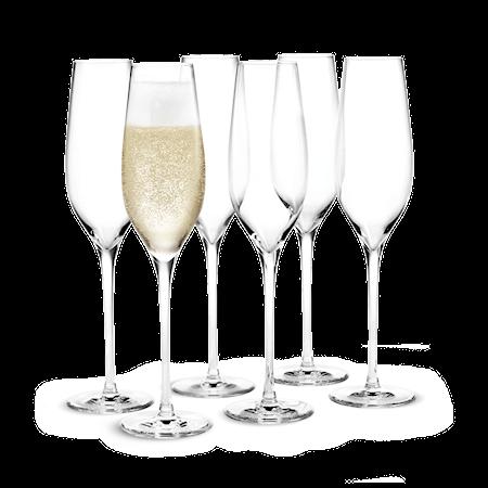 Cabernet Champagneglas klar 29 cl 6 st.
