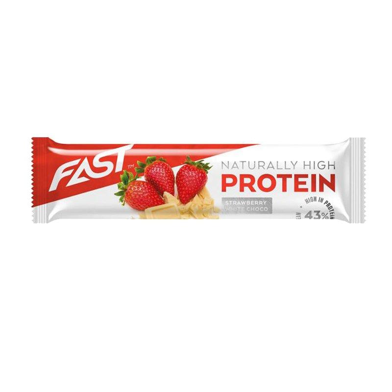 Proteinbar Jordgubb & Vit Choklad - 30% rabatt