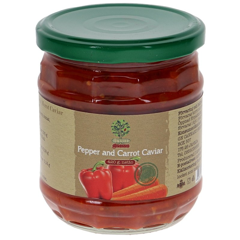 Paprika och Morot Kaviar - 28% rabatt