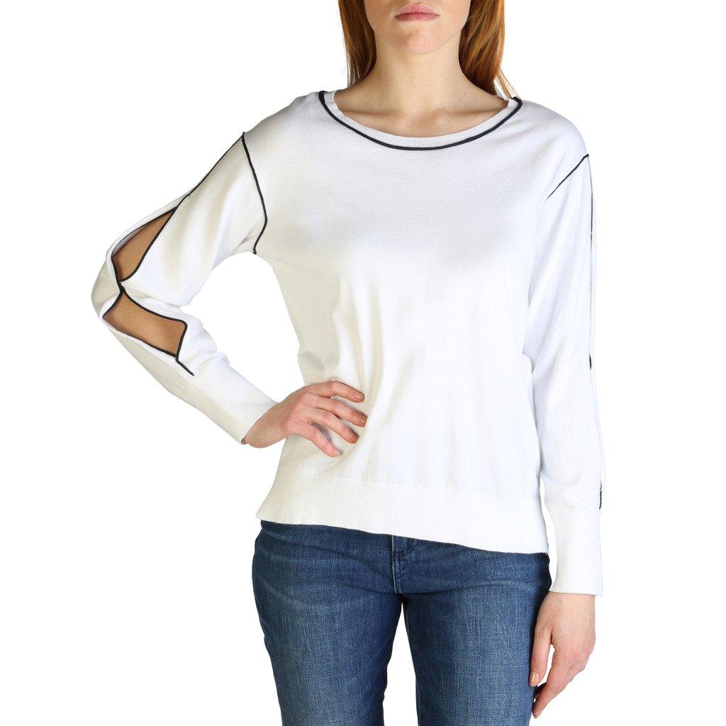 Armani Exchange Women's Sweater White 3ZYM1H_YMA9Z - white XS