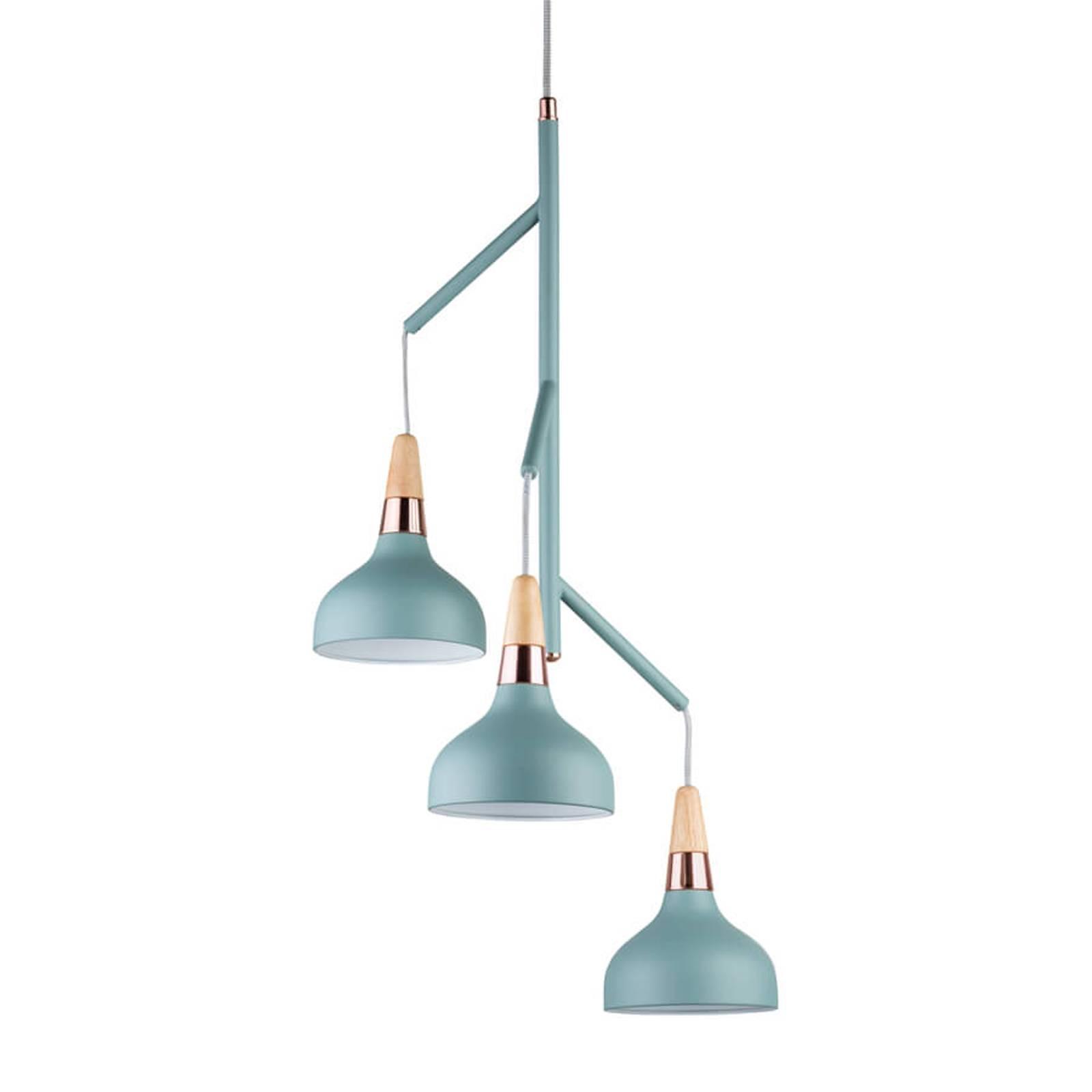 Paulmann Juna -riippuvalaisin, 3-lamppuinen