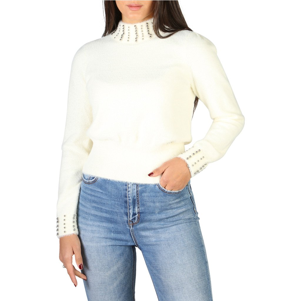 Yes Zee Women's Sweater Various Colours 1665_M055 - white L