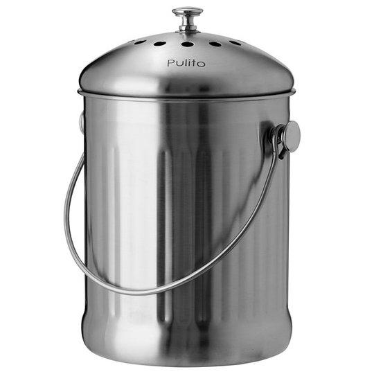 Pulito CompostPail Komposthink, 4 L