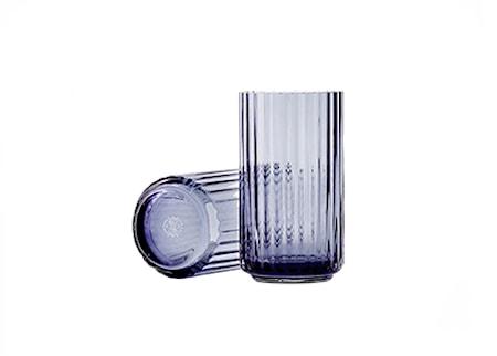Lyngby Vas Midnight Blue Munblåst Glas H38 cm