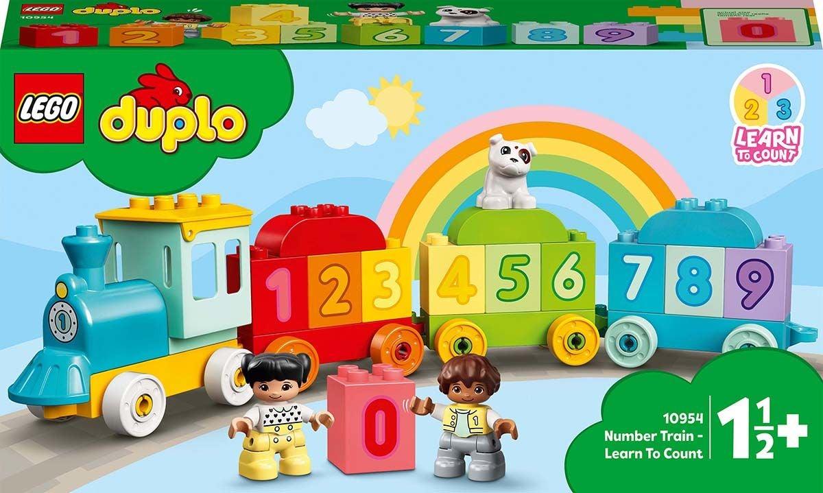 LEGO DUPLO 10954 Ensimmäinen Numerojuna – Opi Laskemaan
