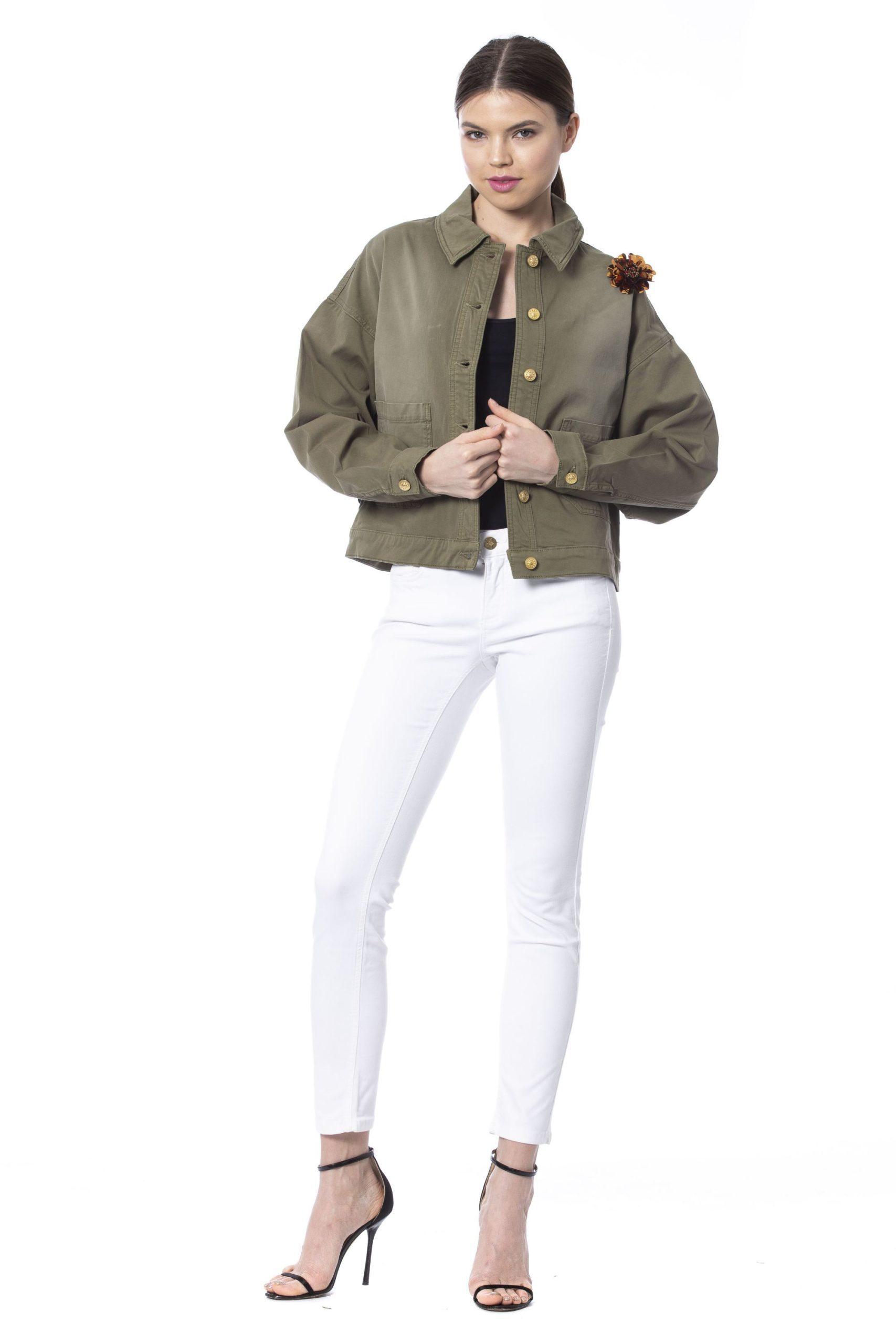 Silvian Heach Women's Jacket Army SI1263926 - XS