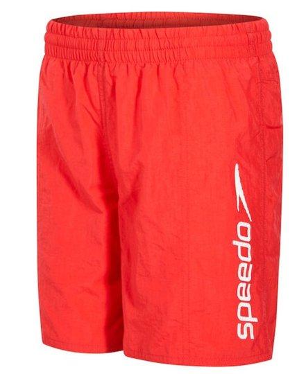 Speedo Challenge 15 Watershorts Junior Badeshorts, Red XXL