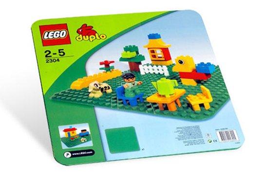 LEGO DUPLO Stor Byggeplate Grønn