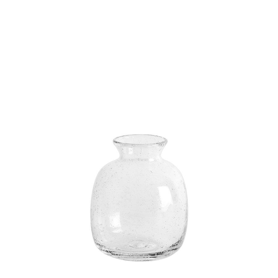 Christiania 1739 Home Vase Rund Klart Glass 10,4cm