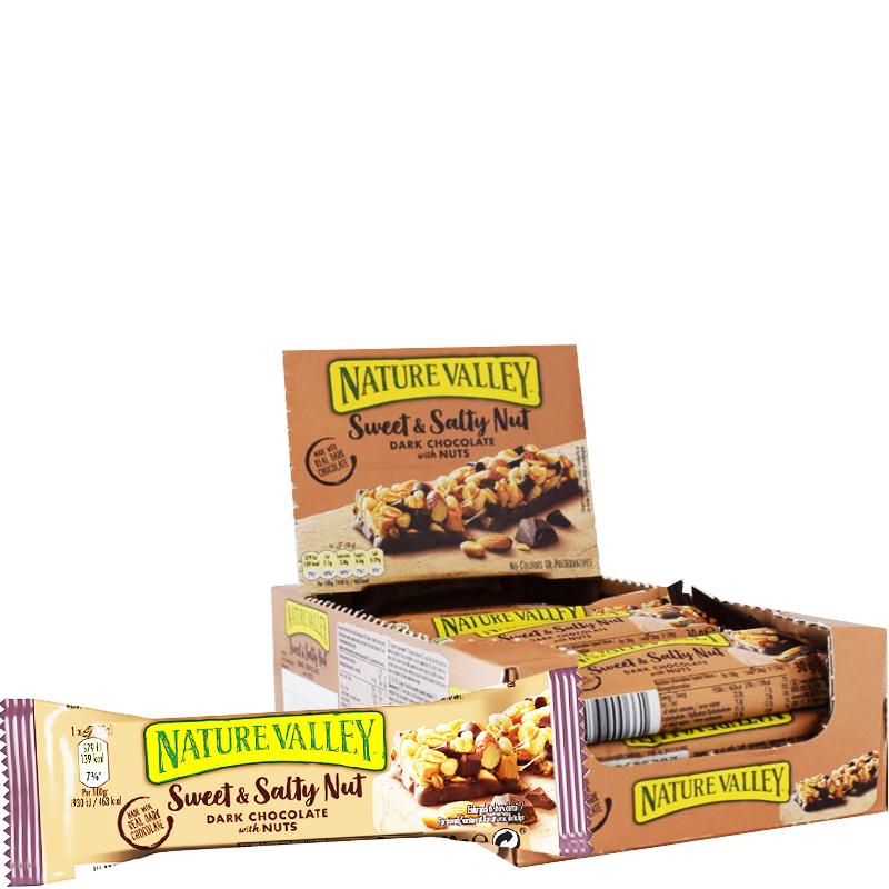 Chokladbars Sweet & Salty Nut 18-pack - 29% rabatt