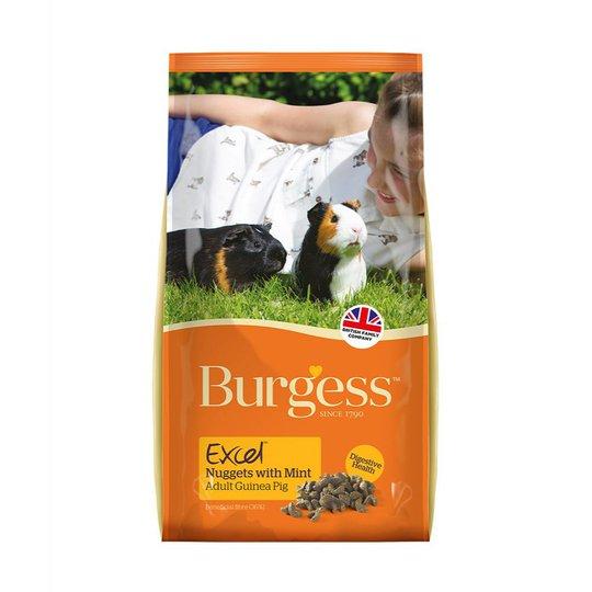Burgess Excel Guinea Pig Adult with Mint (10 kg)