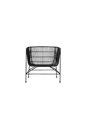 Stol Coon 70x70 cm - Svart