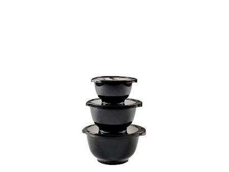 Black Edition Miniboller sett 0,35 + 0,5 + 0,75 + lokk