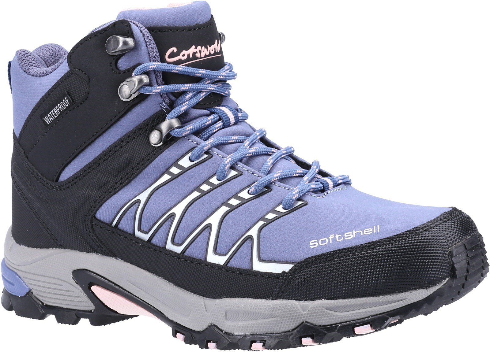 Cotswold Women's Abbeydale Mid Hiker Boot Light Blue 26900 - Light Blue 3