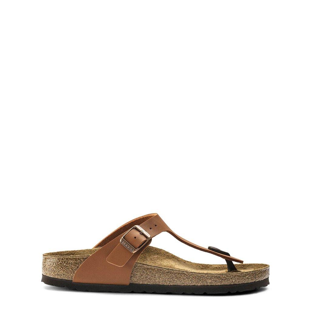 Birkenstock Unisex Flip Flops Brown Gizeh_1019082 - brown EU 35
