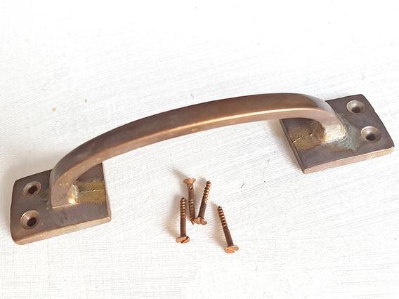 Large Brass Door Handle