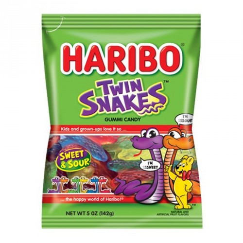Haribo Twin Snakes 227g