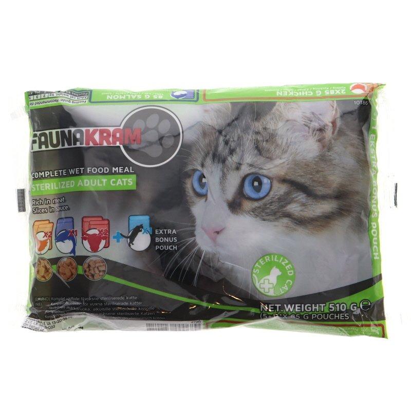 Kissanruoka 5+1 säästöpakkaus - 48% alennus