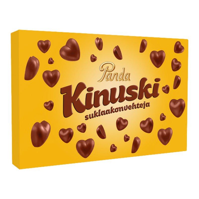 Kinuskisydän Suklaakonvehteja - 50% alennus
