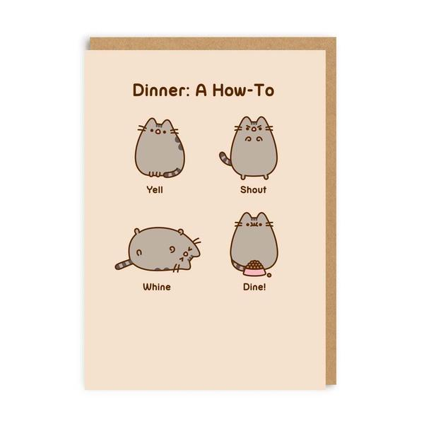 Dinner: A How To Greeting Card