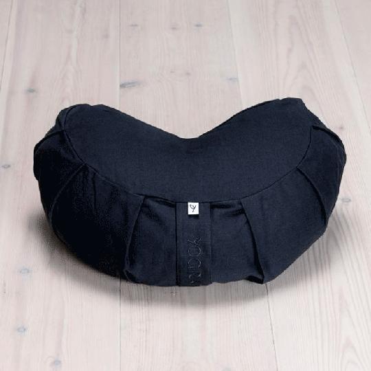 Meditation Cushion Crescen, Midnight Black