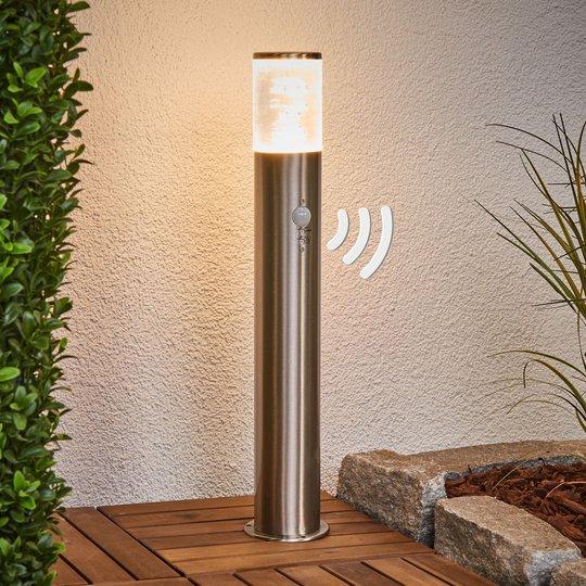 LED-pollarivalaisin Belen liiketunnistimella