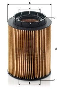 Öljynsuodatin MANN-FILTER HU 932/6 x